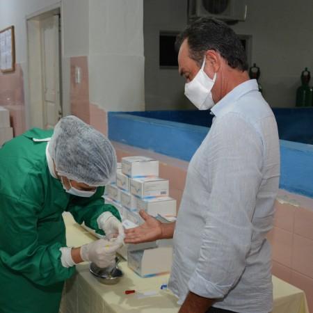 Prefeitura adquire mais uma remessa de testes rápidos para diagnóstico da covid-19