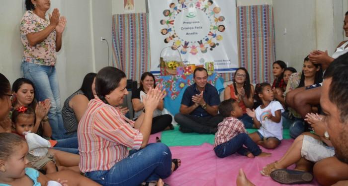 Prefeitura promove festa de encerramento das atividades do Criança Feliz