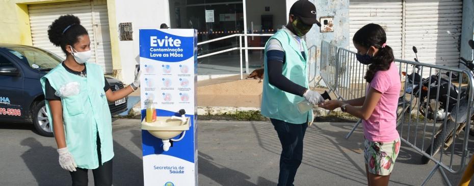 Prefeitura intensifica medidas preventivas no acesso à feira livre