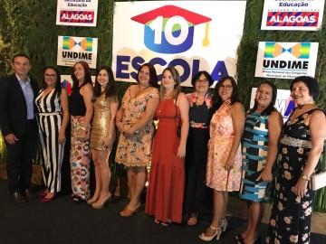 Escolas Gov Divaldo Suruagy e Imaculada Conceição são destaque em premiação realizada pela Secretaria de Estado da Educação