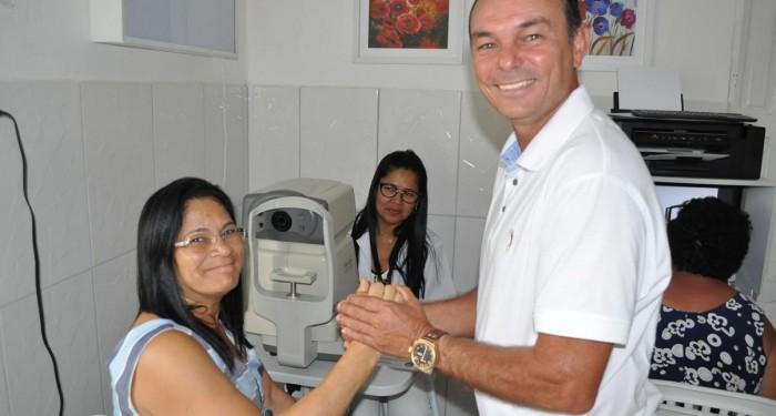 Prefeitura garante colírios para pacientes com Glaucoma