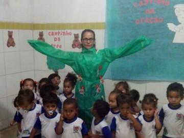 Com atividades de conscientização, alunos celebram Dia da Árvore