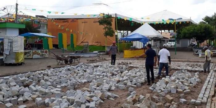 Prefeitura realiza abertura de acesso da Praça ao Sertãozinho