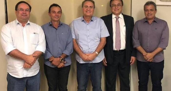 Em reunião com vice-governador e senador, prefeito Celino Rocha garante mais investimentos para o município
