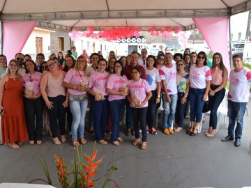 Secretaria de Saúde promove encerramento do Outubro Rosa