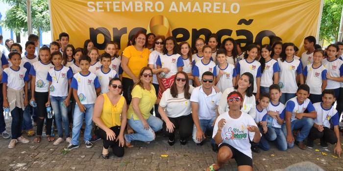 Caminhada encerra programação do Setembro Amarelo