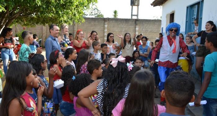 Escolas da Rede Municipal entraram no clima do Dia das Crianças