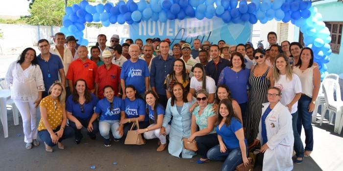 Saúde encerra com sucesso as atividades do Novembro Azul