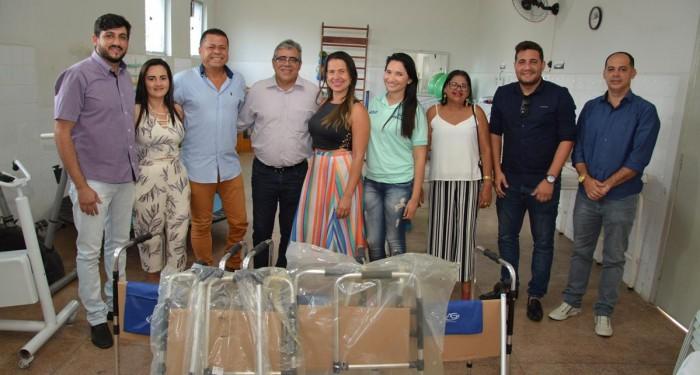 Secretaria de Saúde recebe mais uma remessa de equipamentos para pessoas com deficiência