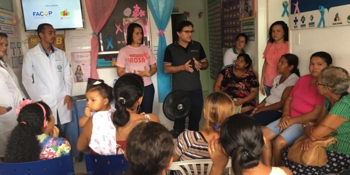 Atividades educativas e ações de prevenção marcaram Outubro Rosa em nosso município