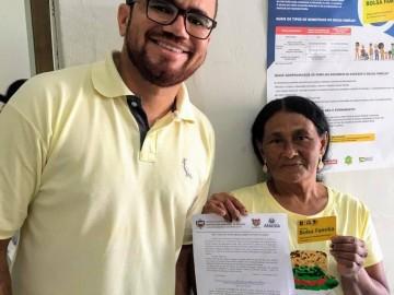 Beneficiária pede desligamento voluntário do programa Bolsa Família em Anadia