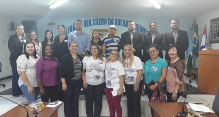 Com palestra na Câmara de Vereadores, Assistência Social encerra campanha Agosto Lilás