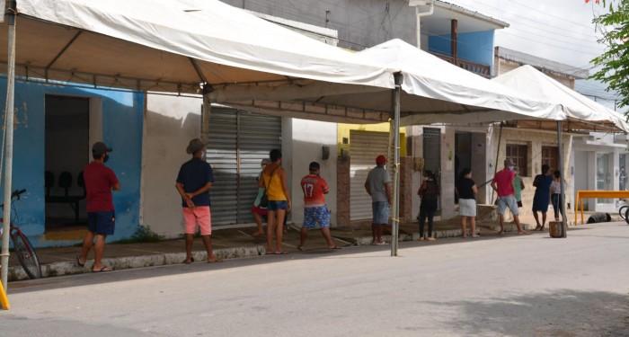 Coronavírus: Prefeitura atua no ordenamento das unidades bancárias