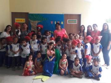 Rede municipal de ensino celebra Dia do Folclore