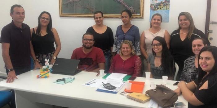 Prefeito Celino Rocha se reúne com equipe da Assistência Social e traça metas para 2019
