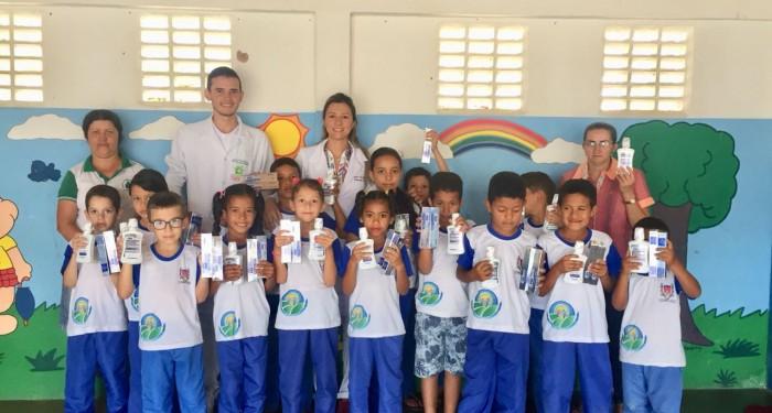 Secretaria de Saúde promove ações de saúde bucal entre alunos