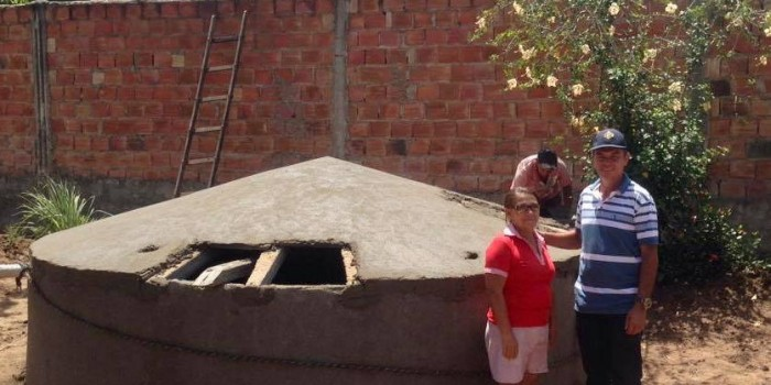 Prefeitura constrói cisternas em povoados e sítios