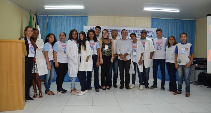 Estudantes da Escola Nossa Senhora da Piedade participam da II Conferência Estudantil