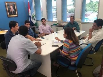 Prefeito se reúne com representantes da Casal e Funasa para ajustes de investimentos no abastecimento de água