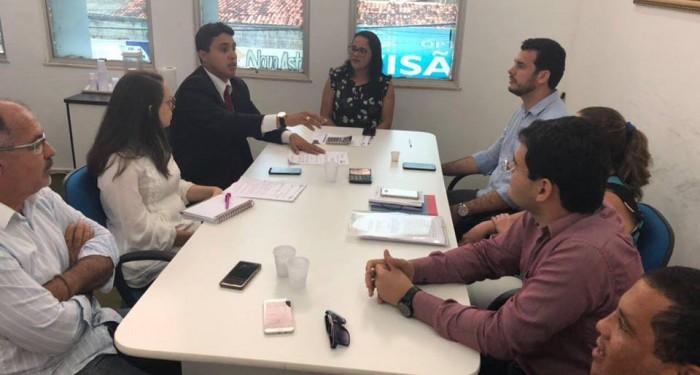 Prefeito Celino Rocha reúne secretariado para avaliar ações dos primeiros meses do ano