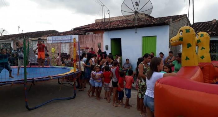 Unidade de Saúde Isauro Faustino comemora Dia das Crianças