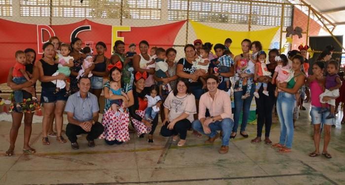 Secretaria de Assistência Social realiza festa para os pequenos do Programa Criança Feliz