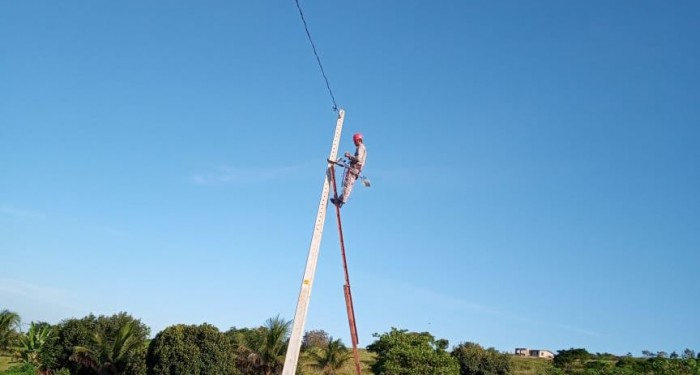 Prefeitura inicia instalação de lâmpadas de LED na zona rural