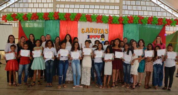Formatura do Projeto Garotas Mil aconteceu nesta terça-feira (17)