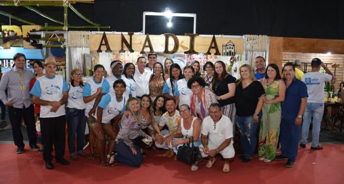 Com muita arte e criatividade, Anadia participa da Expo-Cidades e Gestores
