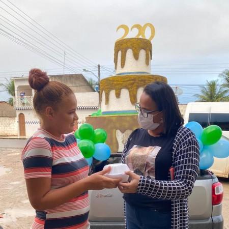 CRAS promove homenagem em alusão aos 220 anos
