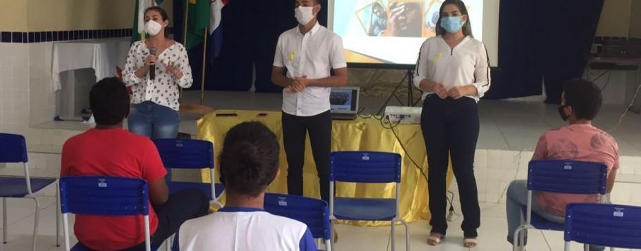 Setembro Amarelo: Saúde promove ações de orientação e prevenção na rede municipal de ensino