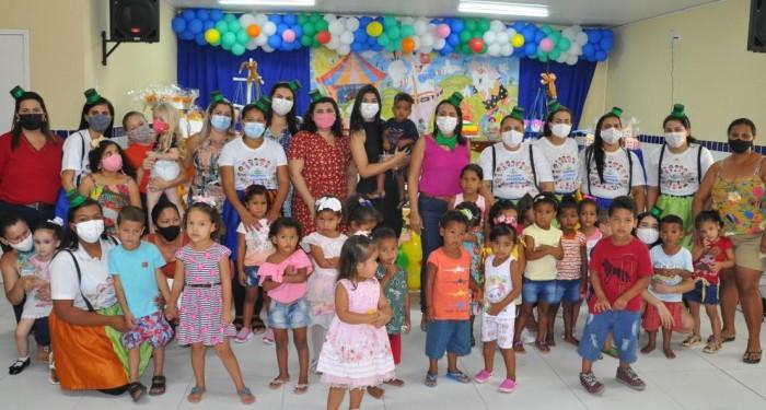Criança Feliz: Assistência Social promove confraternização para criançada do programa