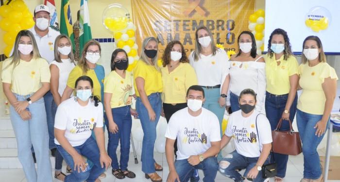 Saúde encerra atividades em alusão ao Setembro Amarelo
