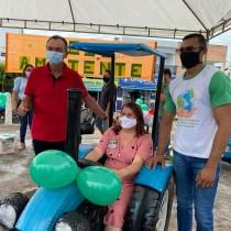 Meio Ambiente promove exposição com peças feitas de produtos recicláveis