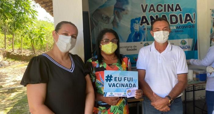 Saúde realiza dia D de vacinação na Comunidade Quilombola da Jaqueira
