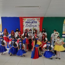 Escola desenvolve projeto Leitura e Cultura Nordestina