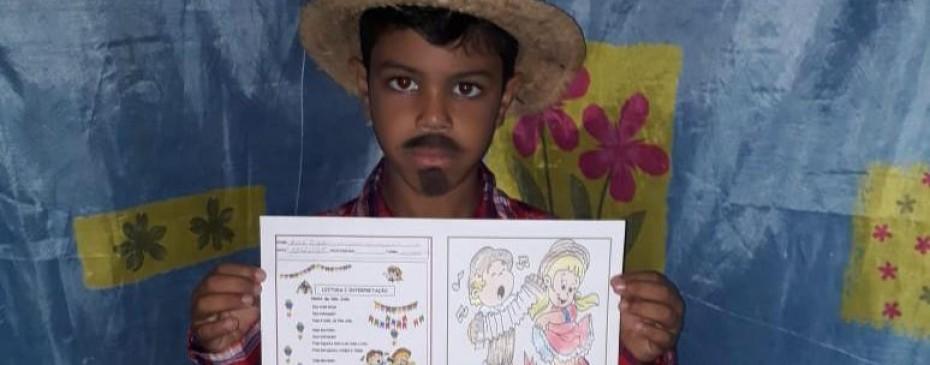 Educação promove atividades no clima dos festejos juninos