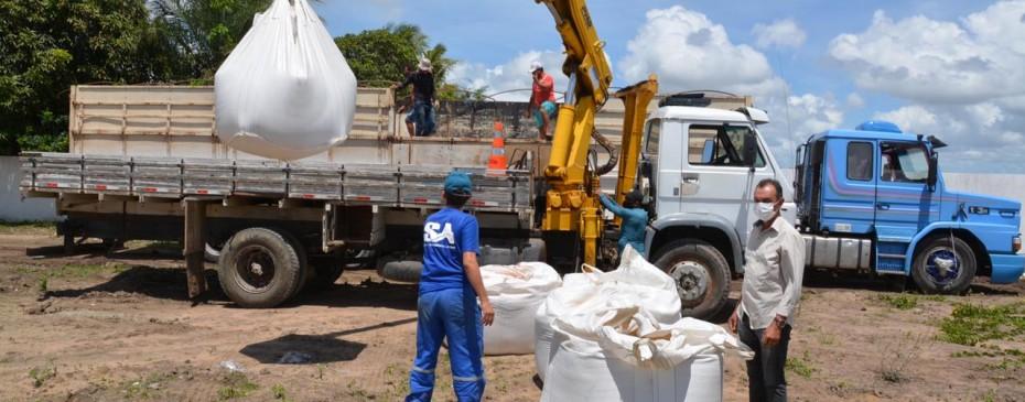 Prefeitura realiza serviços na Estação de Tratamento para garantir qualidade no abastecimento de água